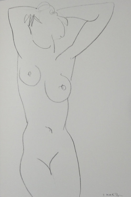 Matisse -  Lithograph - Plate 6