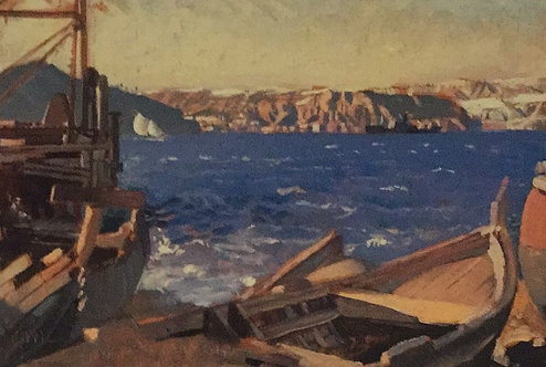 George Lambert, Gallipoli from the Chanak Side