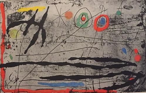 Joan Miro, Drawn on a Wall 1
