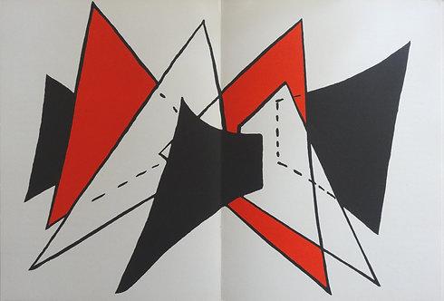 Calder - Plate 2 - Original lithograph