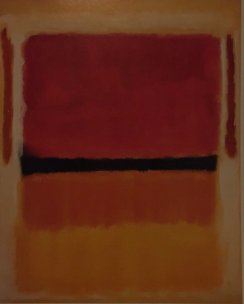 Mark Rothko, Untitled (Violet, Black, Orange Yellow on White and Red)