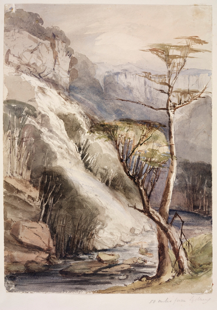 Georgiana Lowe, 50 Miles from Sydney, 1842-50