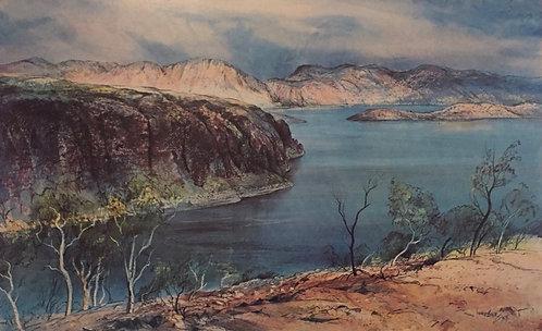 Kenneth Jack, Lake Argyle, Western Australia