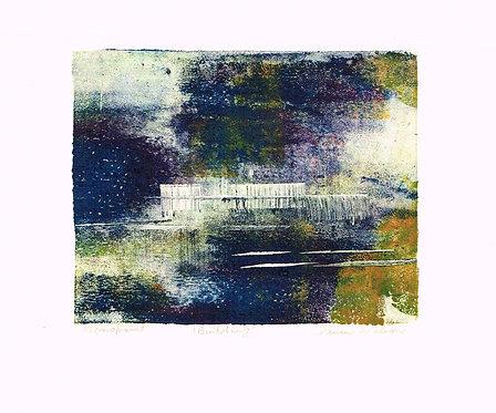 Dawn Wilson, Monoprint,  Building