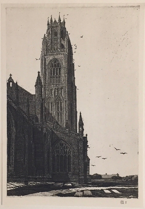 F L Griggs, St Botolph's Boston