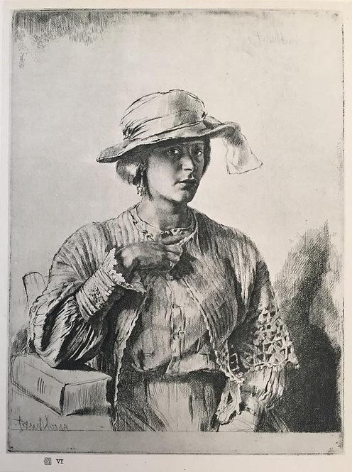 G L Brockhurst, Le Casaquin De Laine