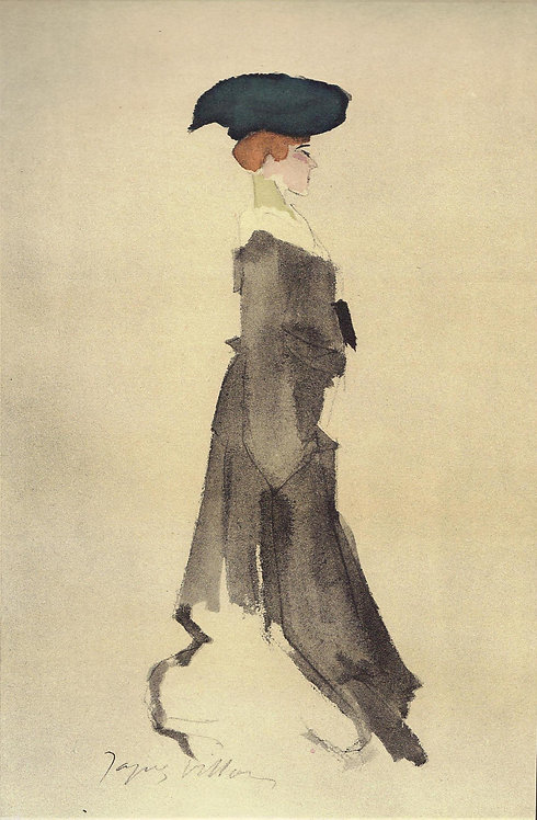 Jacques Villon, Silhouette