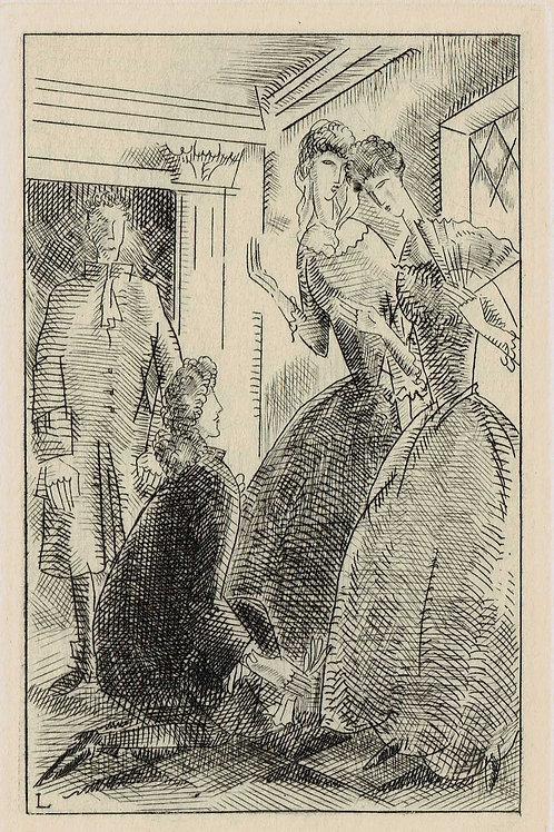 J E Laboureur - 1929 Gavure