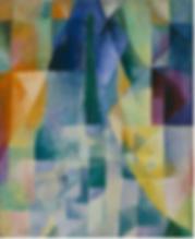 Robert Delaunay Windows Open Simultaneously (First Part, Third Motif) 1912