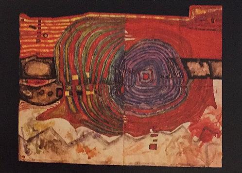 Hundertwasser, Spiral wanting to become a Mountain