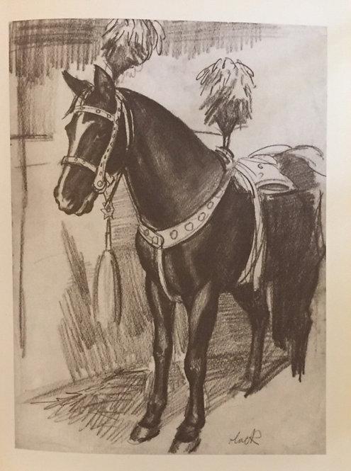 Laura Knight, Circus Horse I
