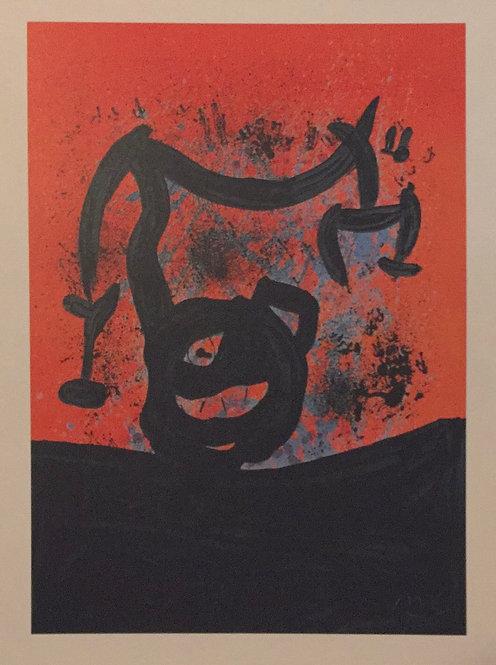 Joan Miro, Balancing on the Horizon