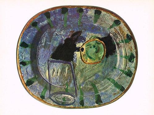 Pablo Picasso  Ceramics Print - 1