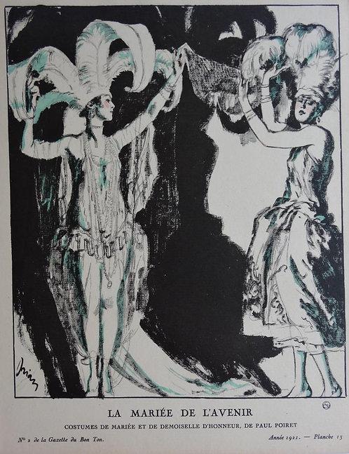 Gazette Du Bon Ton 1921 No 2 Pochoir