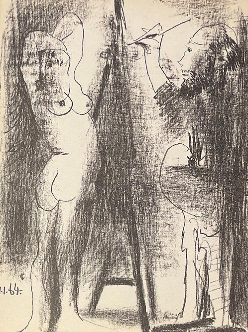 Pablo Picasso - Original Lithograph
