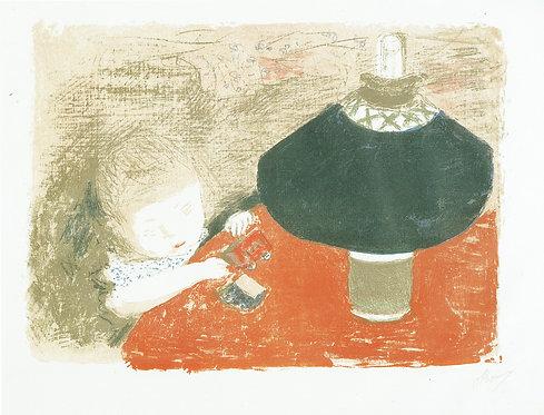 Pierre Bonnard, Child in Lamplight