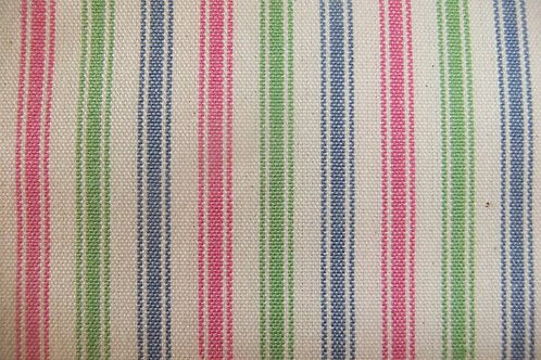 Pink/Blue/Green Ticking