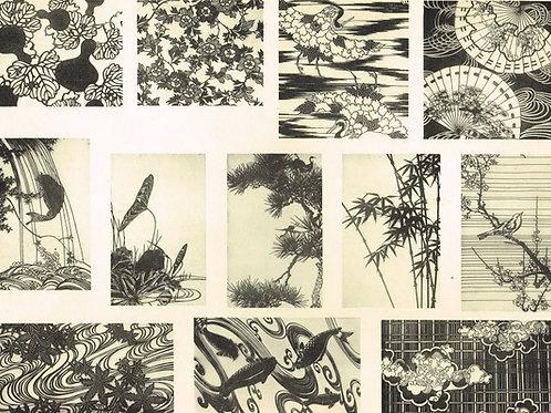 Japonais d'Art Decoratif  Plate 11
