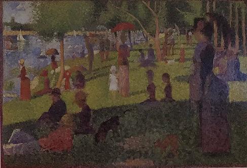 Georges Seurat, Study for La Grande Jatte