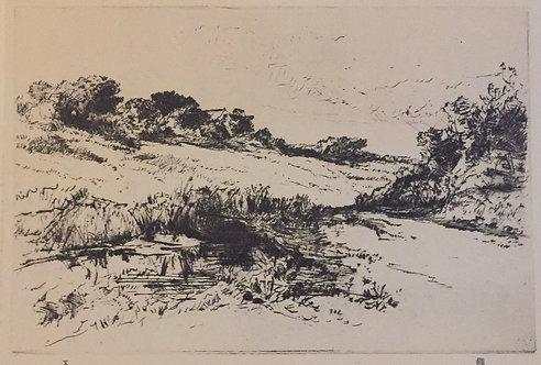 Sir Francis Seymour Haden, Windmill Hill No 1