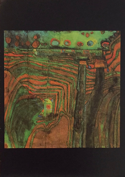 Hundertwasser, Steamer in the Green Valley