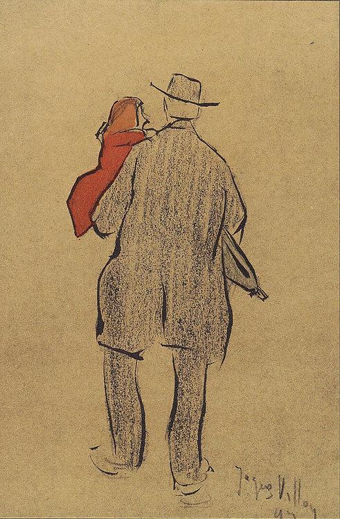 Jacques Villon, Croquis de la rue