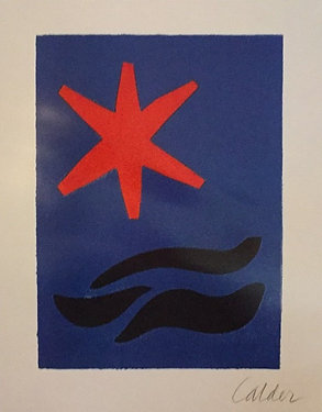 Alexander Calder, Etching from 'Fetes'