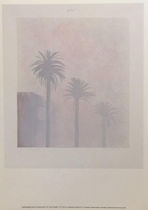 David Hockney, Mist from the Weather Series