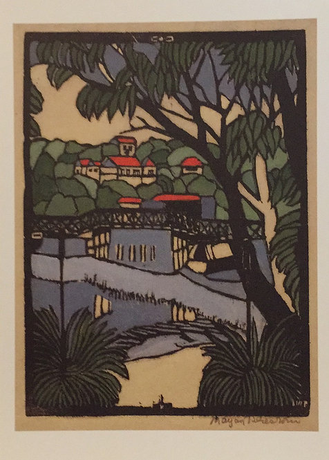 Margaret Preston, Mosman Bridge