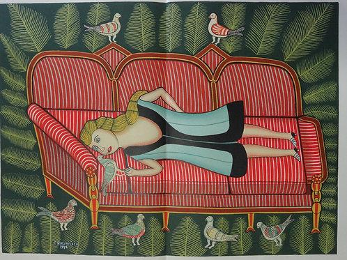 H Hirshfield   - Illustration