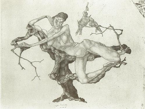 Paul Klee - Virgin in the Tree