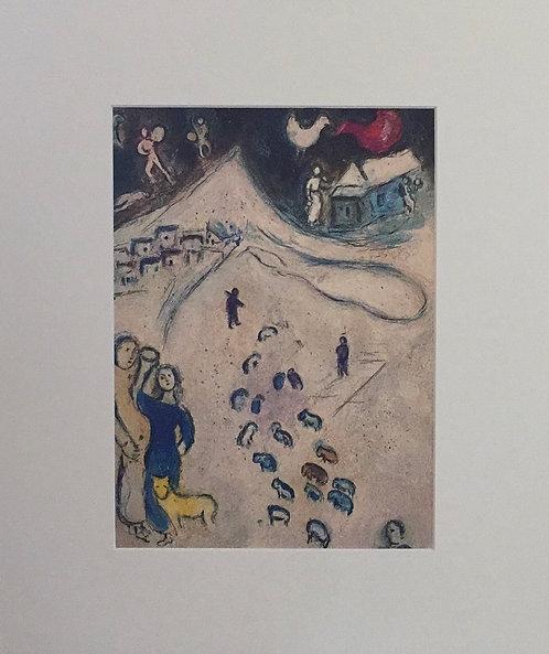 Marc Chagall - Mounted Print II