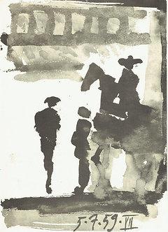 Pablo Picasso, Toros Y Toreros 8