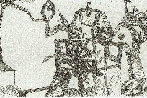 Paul Klee -  Little Castle in the Air
