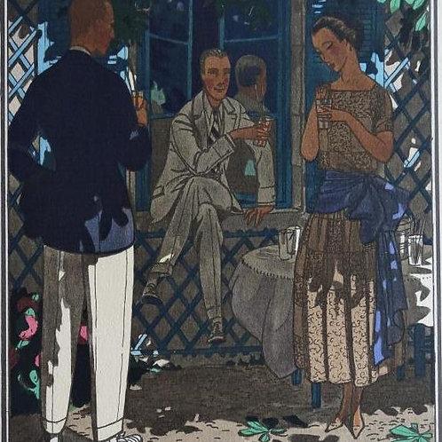 Gazette Du Bon Ton 1921 No 5 Pochoir
