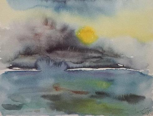 M Drager, Sunrise at the Lake