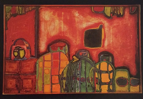 Hundertwasser, Setting of a Green Sun