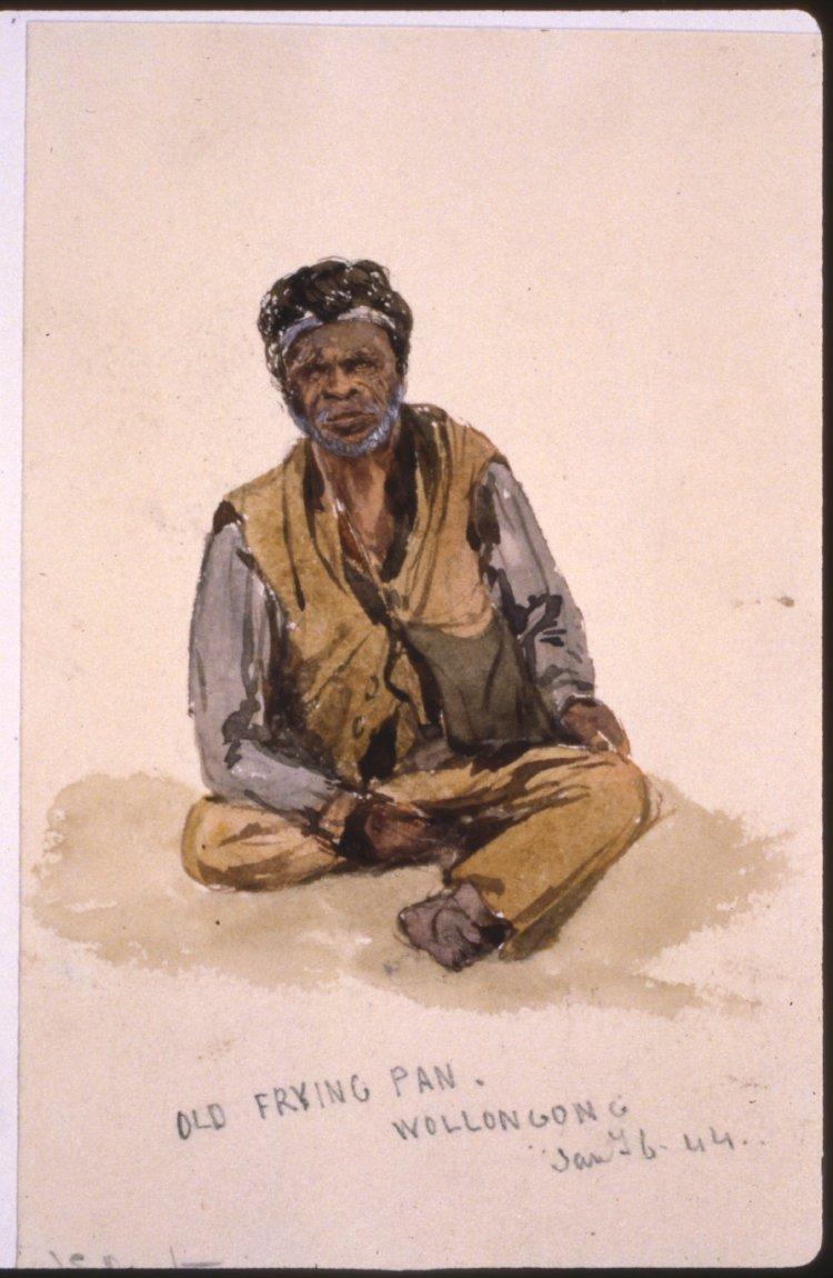 John Skinner Prout, Old Frying Pan, 1844