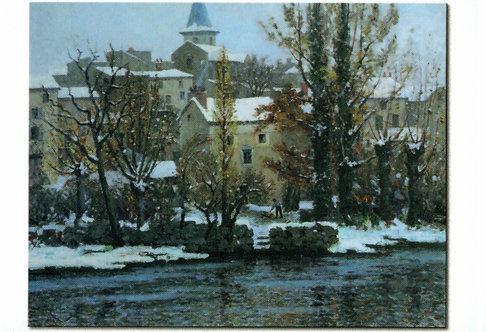 Jean de Chasteauneuf, Premieres neiges en Auvergne