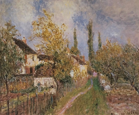 Alfred Sisley, A path at les Sablons