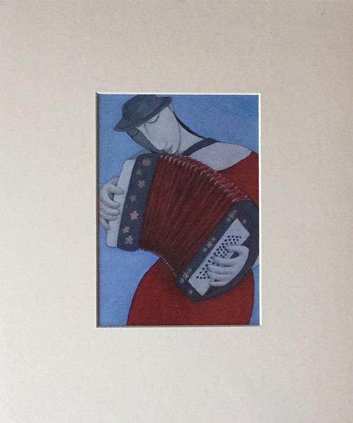 Joanna Powell,  large premounted card