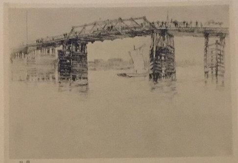 JM Whistler, Old Battersea Bridge