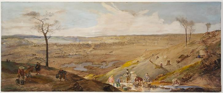 George Rowe, Ballarat, 1858, Dixson Gall