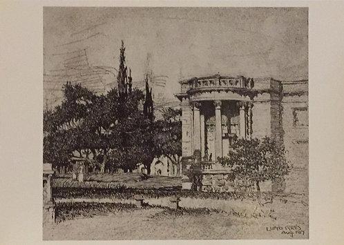 Lloyd Rees, The Art Gallery