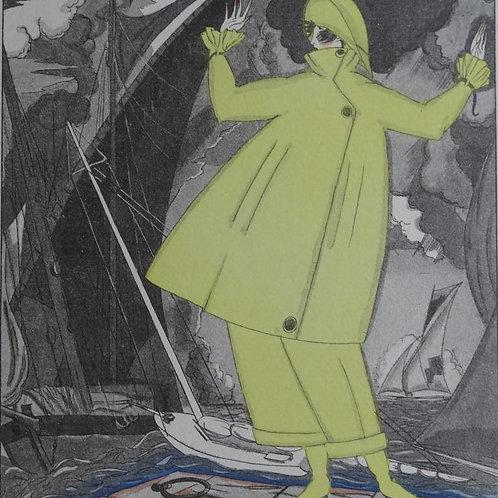 Gazette Du Bon Ton 1920 No 6 Pochoir