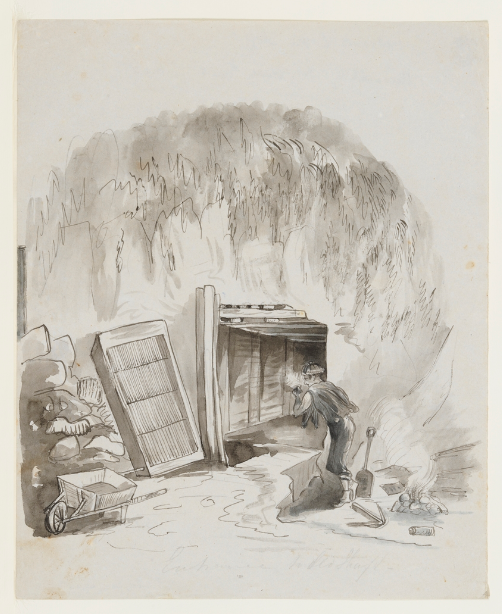 Louisa Atkinson, Coal Mine Mt Kiera c184