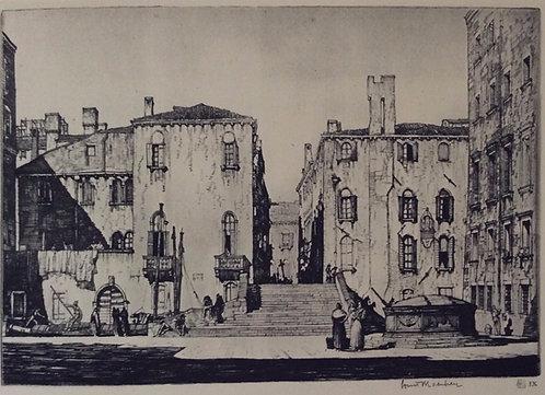 LC Rosenberg, Campo Dei Jesuiti, Venice