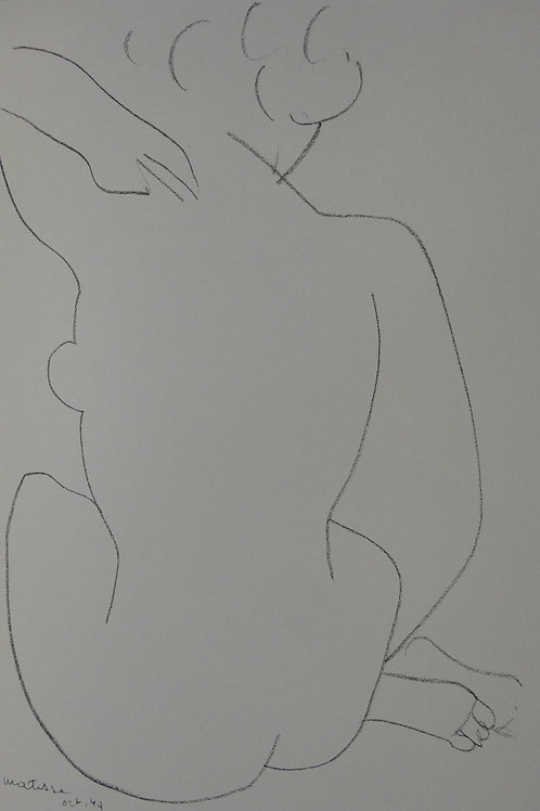 Matisse -  Lithograph - Plate 3