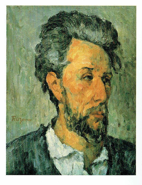Marc Chagall, Portrait of Victor Chocquet