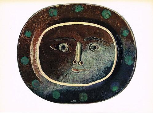 Pablo Picasso  Ceramics Print - 2